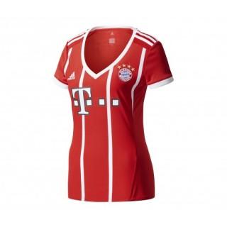 Maillot adidas Bayern Munich Domicile 2017/18 Rouge Femme