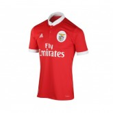 Maillot adidas Benfica Domicile 2017/18 Rouge