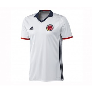 Maillot adidas Colombie Domicile 2016/17 Blanc