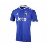 Maillot adidas Juventus Extérieur 2016/17 Bleu Enfant