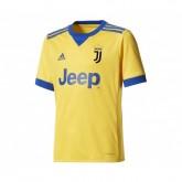 Maillot adidas Juventus Extérieur 2017/18 Jaune Enfant