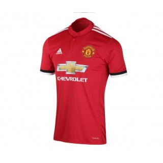 Maillot adidas Manchester United Domicile 2017/18 Rouge Enfant