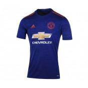 Maillot adidas Manchester United Extérieur 2016/17 Bleu