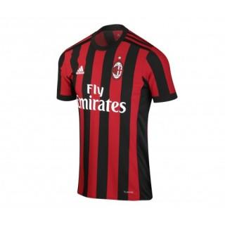 Maillot adidas Milan AC Domicile 2017/18 Rouge et Noir