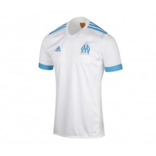 Maillot adidas Olympique de Marseille Domicile 2017/18 Blanc