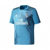 Maillot adidas Real Madrid Third 2017/18 Bleu Enfant
