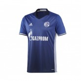 Maillot adidas Schalke 04 Domicile 2016/18 Bleu