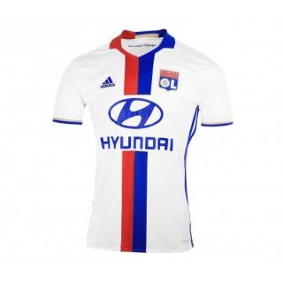 Maillot adidas de l'Olympique Lyonnais Domicile saison 2016/17 Blanc Enfant