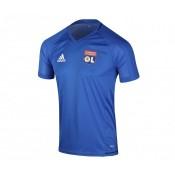 Maillot adidas entraînement Olympique Lyonnais Bleu