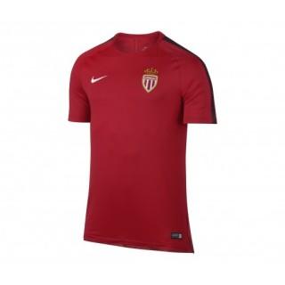 Maillot entraînement Nike AS Monaco Squad Rouge