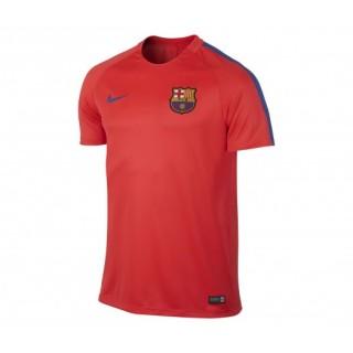 Maillot entraînement Nike Barcelone Rouge