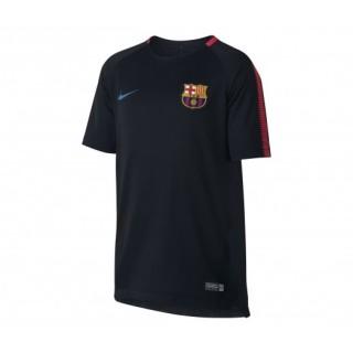 Maillot entraînement Nike FC Barcelone Noir Enfant