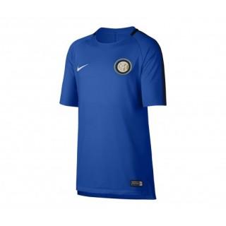Maillot entraînement Nike Inter Milan Squad Bleu Enfant
