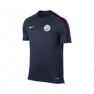 Maillot entraînement Nike Manchester City Bleu