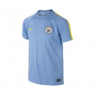 Maillot entraînement Nike Manchester City Bleu Enfant