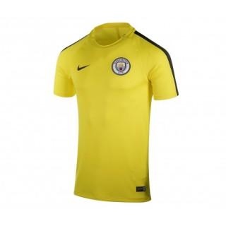 Maillot entraînement Nike Manchester City Jaune Enfant
