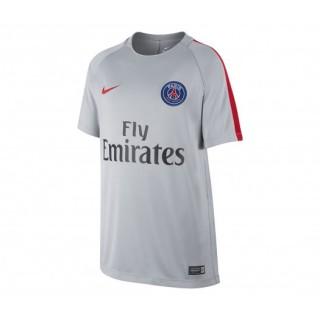 Maillot entraînement Nike Paris Saint-Germain Gris clair
