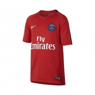 Maillot entraînement Nike Paris Saint-Germain Rouge Enfant