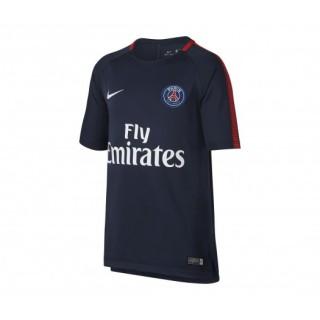 Maillot entraînement Nike Paris Saint-Germain Squad Bleu