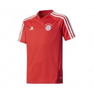 Maillot entraînement adidas Bayern Munich Rouge Enfant