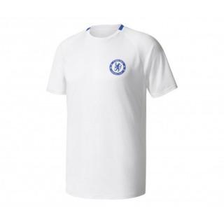 Maillot entraînement adidas Chelsea Blanc