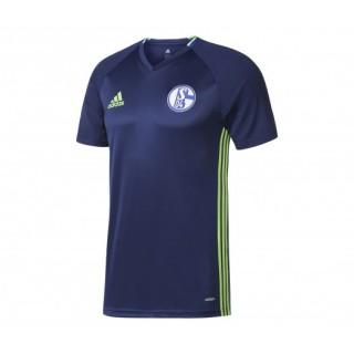 Maillot entraînement adidas FC Schalke 04 Bleu