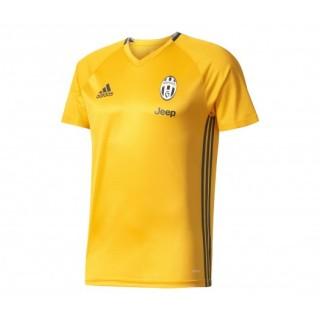 Maillot entraînement adidas Juventus Jaune