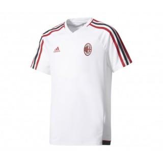 Maillot entraînement adidas Milan AC Blanc Enfant