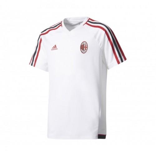 Achat Maillot entraînement adidas Milan AC Blanc Enfant