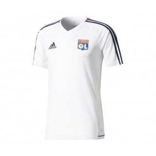 Maillot entraînement adidas Olympique Lyonnais Blanc Enfant