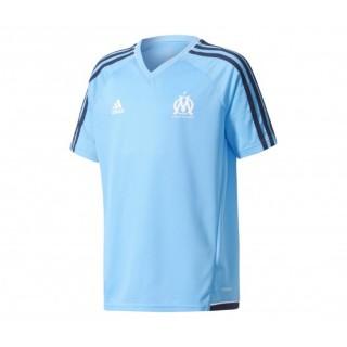 Maillot entraînement adidas Olympique de Marseille Bleu Enfant