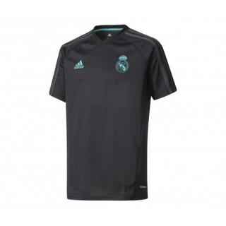 Maillot entraînement adidas Real Madrid Noir Enfant
