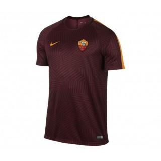 Maillot pré match Nike AS Roma Rouge