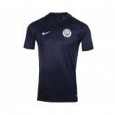 Maillot pré match Nike Manchester City Bleu