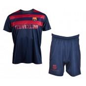 Mini Kit Barcelone Bleu et Rouge Enfant