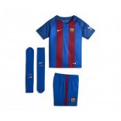 Mini Kit Nike Barcelone Domicile 2016/17 Bleu Enfant