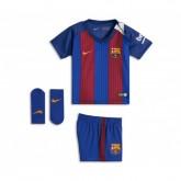 Mini Kit Nike Barcelone Domicile 2016/17 Bleu et Rouge Bébé