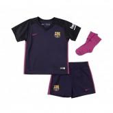 Mini Kit Nike Barcelone Extérieur 2016/17 Violet Bébé