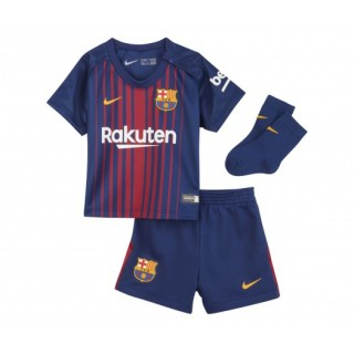 Mini Kit Nike FC Barcelone Domicile 2017/18 Bébé Bleu