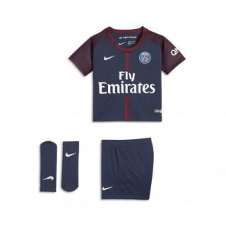 Mini Kit Nike Paris Saint-Germain Domicile 2017/18 Bleu Bébé