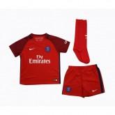 Mini Kit Nike Paris Saint-Germain Extérieur 2016/17 Rouge Enfant