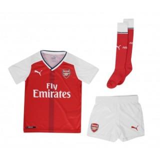 Mini Kit adidas Arsenal Domicile 2016/17 Rouge et Blanc Enfant
