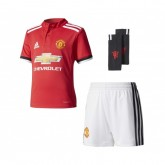 Mini Kit adidas Manchester United Domicile 2017/18 Rouge et Blanc