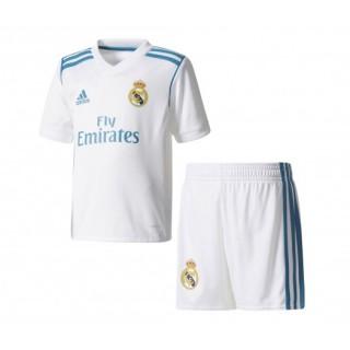 Mini Kit adidas Real Madrid Domicile 2017/18 Blanc Enfant