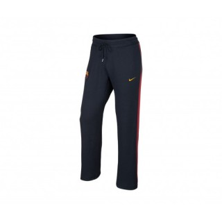 Pantalon Authentic Aw77 FC Barcelone Bleu Marine/Rouge