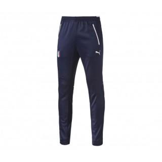 Pantalon Entraînement Italie Bleu Marine