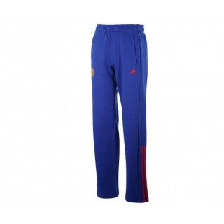 Pantalon Entraînement adidas Manchester United Bleu