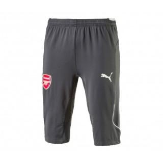 Pantalon entraînement 3/4 Puma Arsenal Gris Enfant