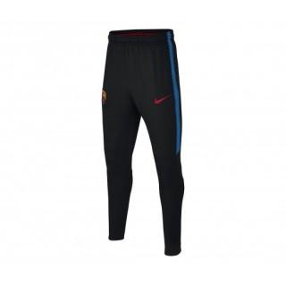 Pantalon entraînement Nike FC Barcelone Squad Noir Enfant