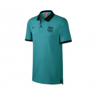 Polo Authentic Nike FC Barcelone Slim Vert